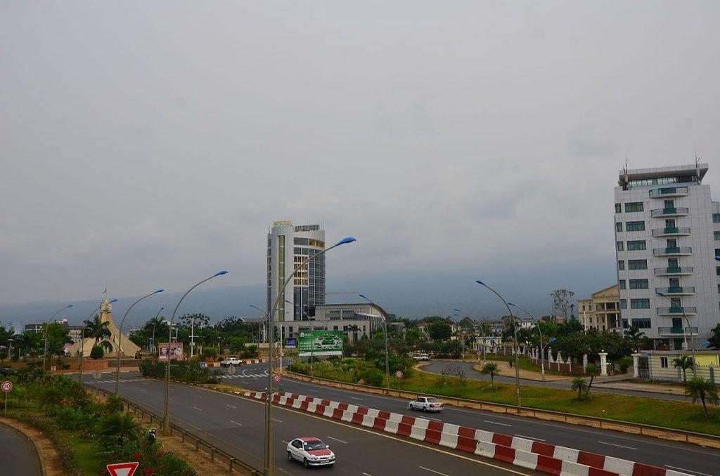 Une vue de Malabo la capitale de la Guinée Equatoriale