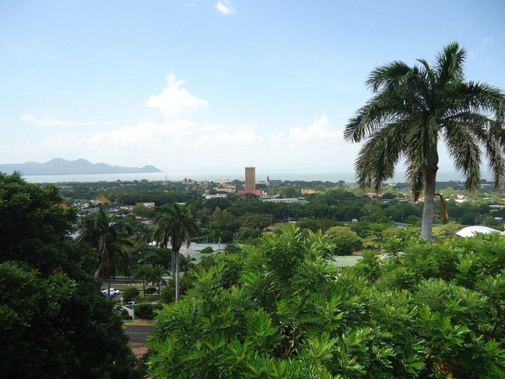Une vue panoramique de Managua, la capitale du Nicaragua