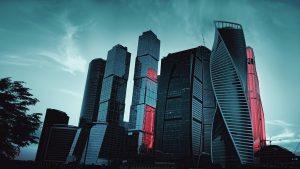 Architecture de Moscou la capitale de la Russie