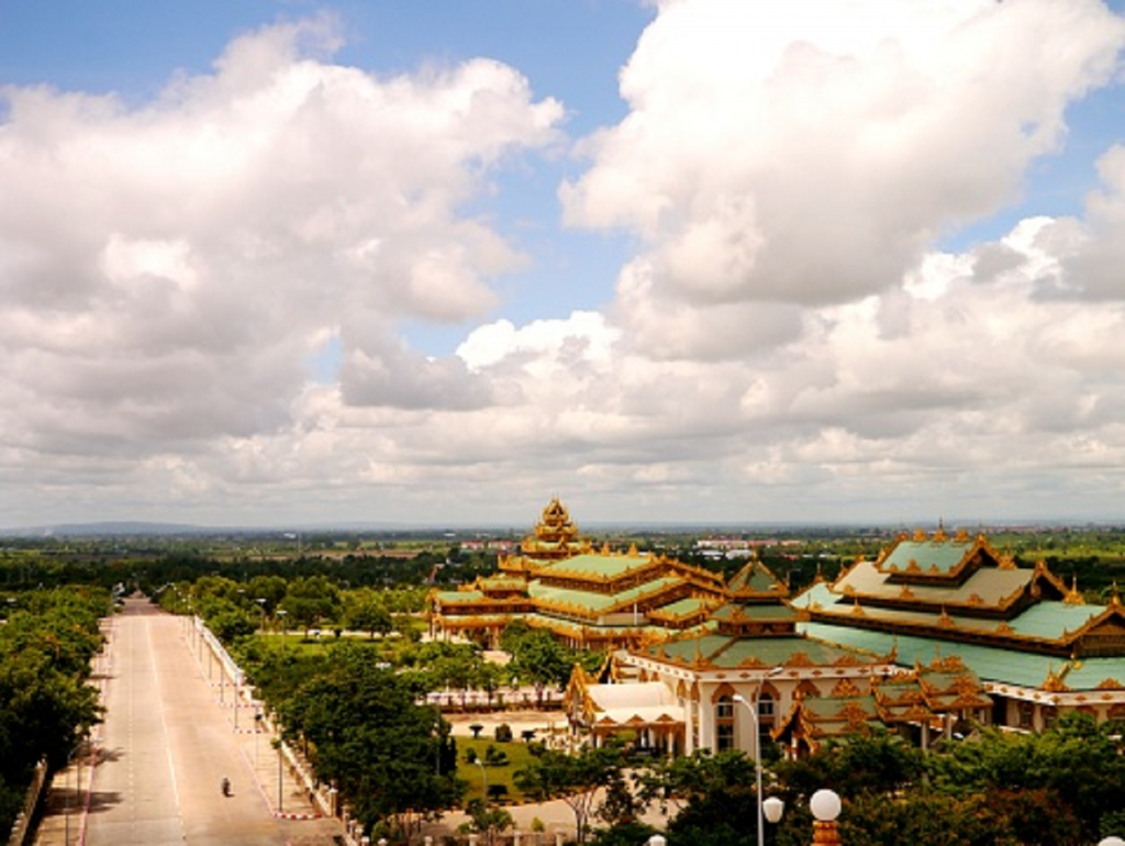 Capitale de la Birmanie