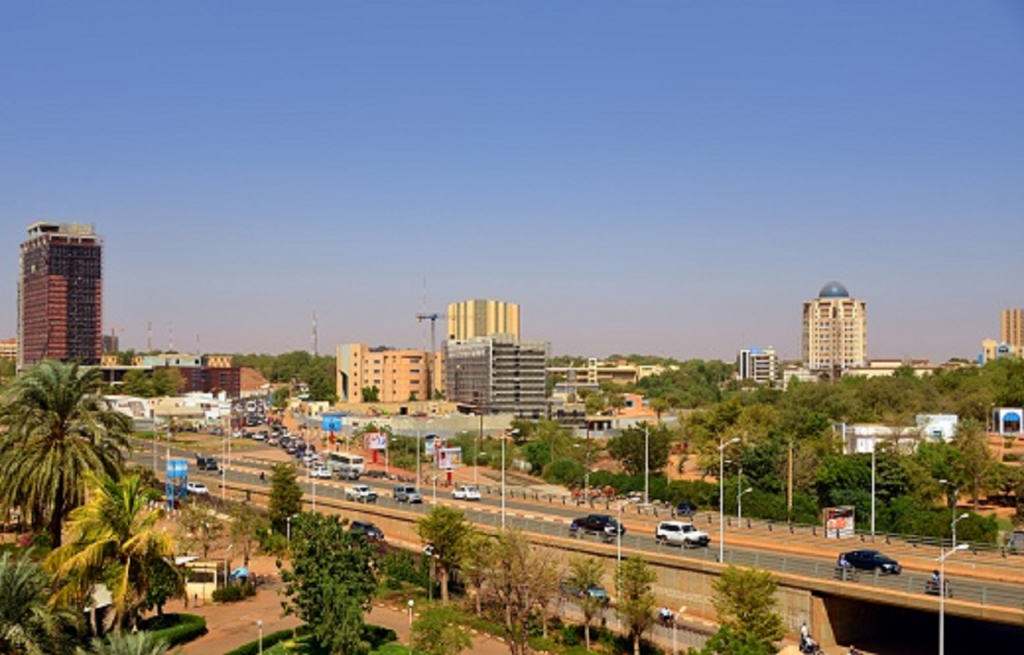 Niamey, la capitale du Niger