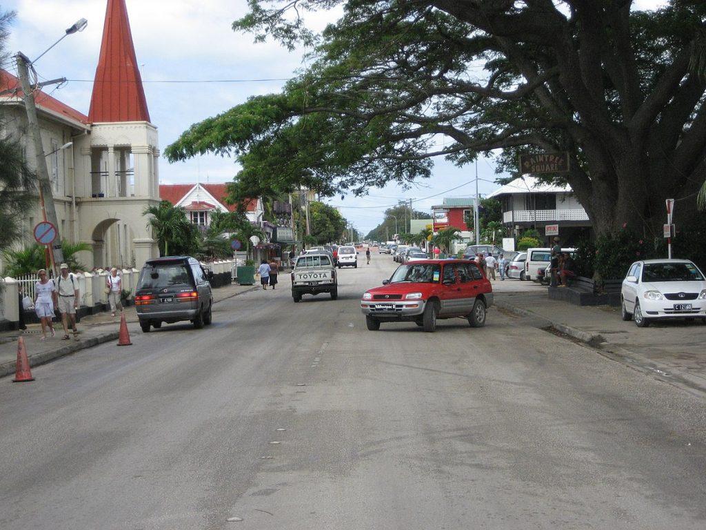 Capitale des îles Tonga