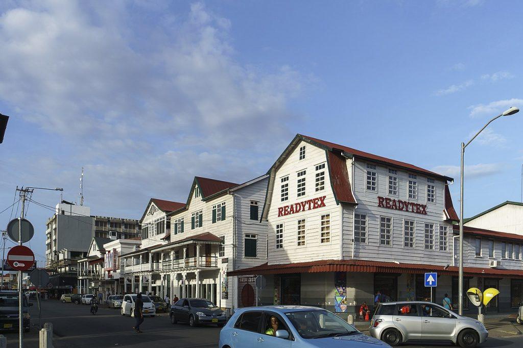capitale du Suriname