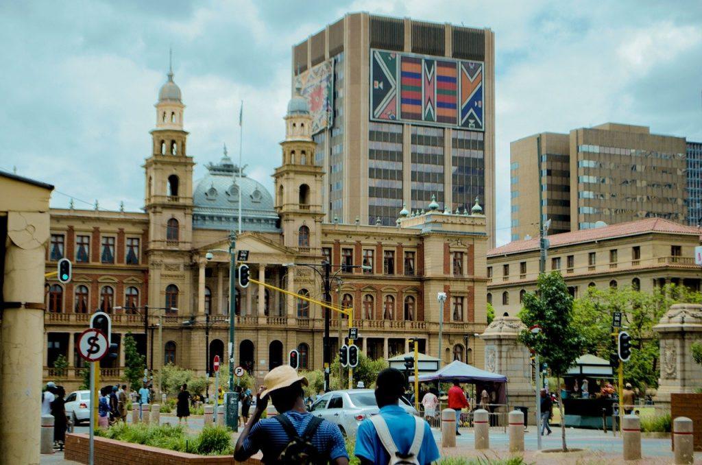 Capitale administrative de l'Afrique du Sud