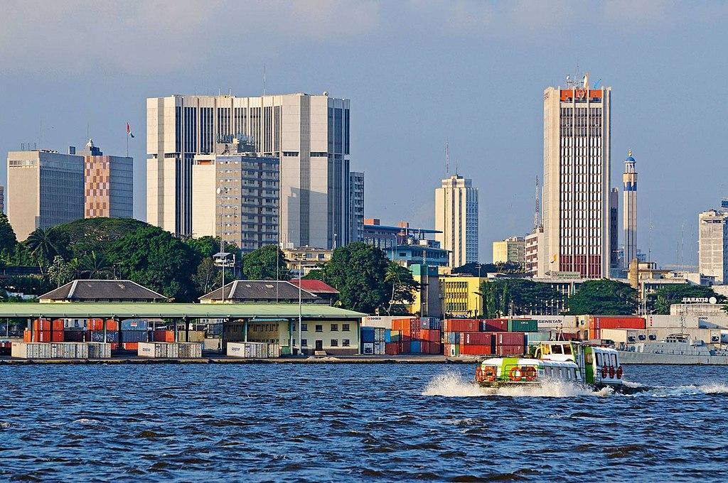 Abidjan, capitale de la Côte d'Ivoire