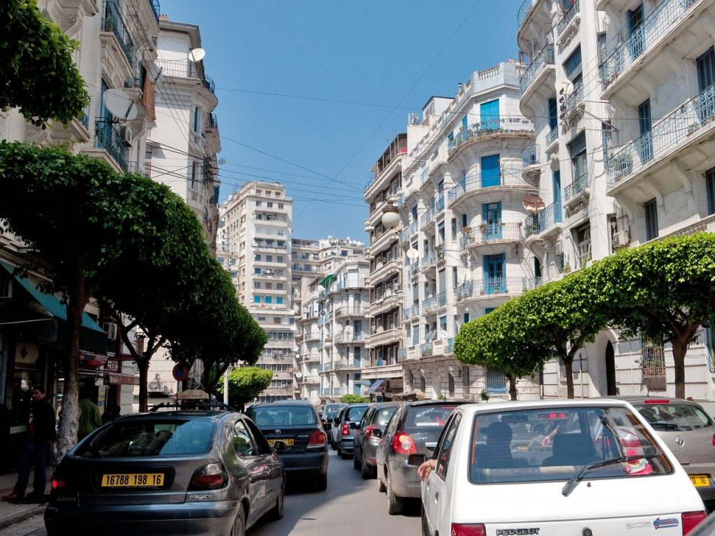 Une vue de Alger en Algérie
