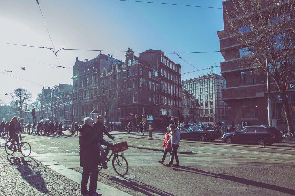 Des rues de Amsterdam