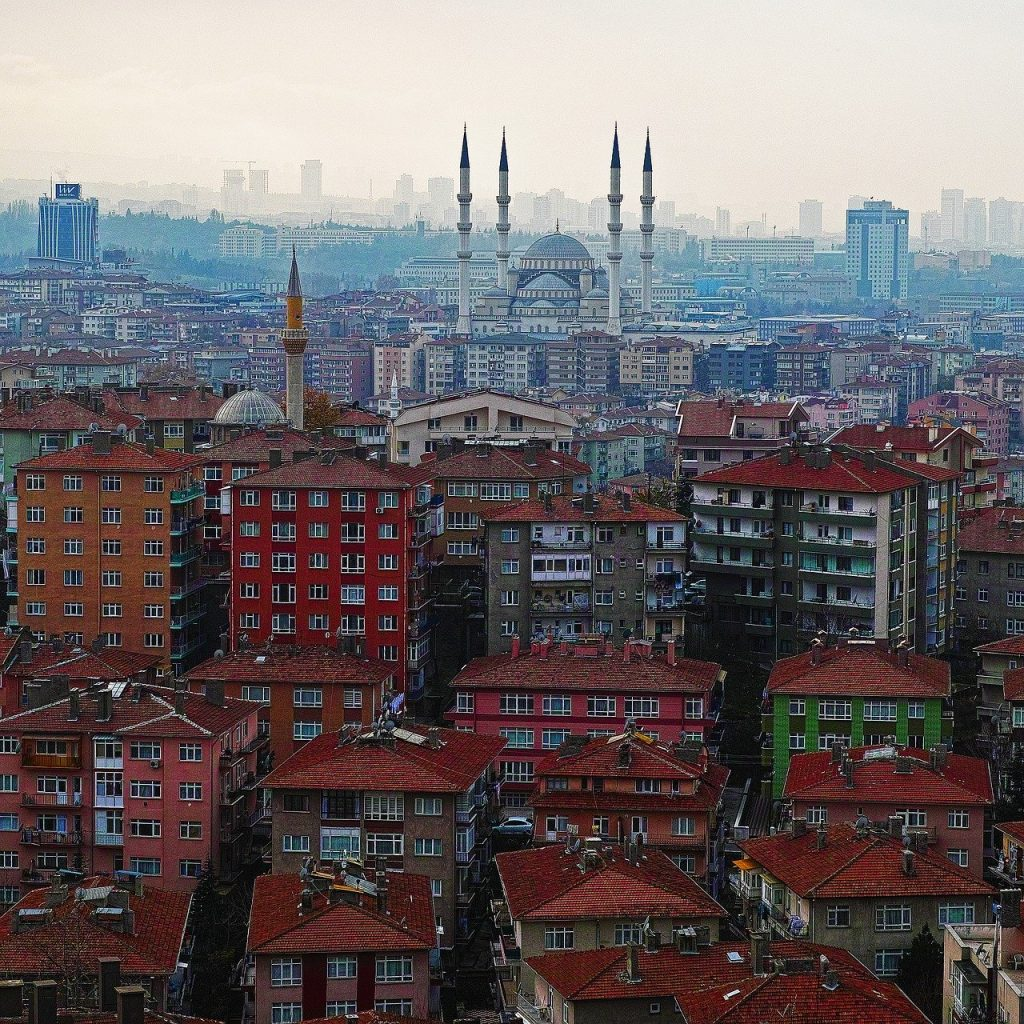 paysage de Ankara