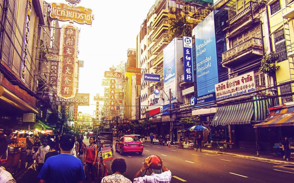 Bangkok en Thaïlande