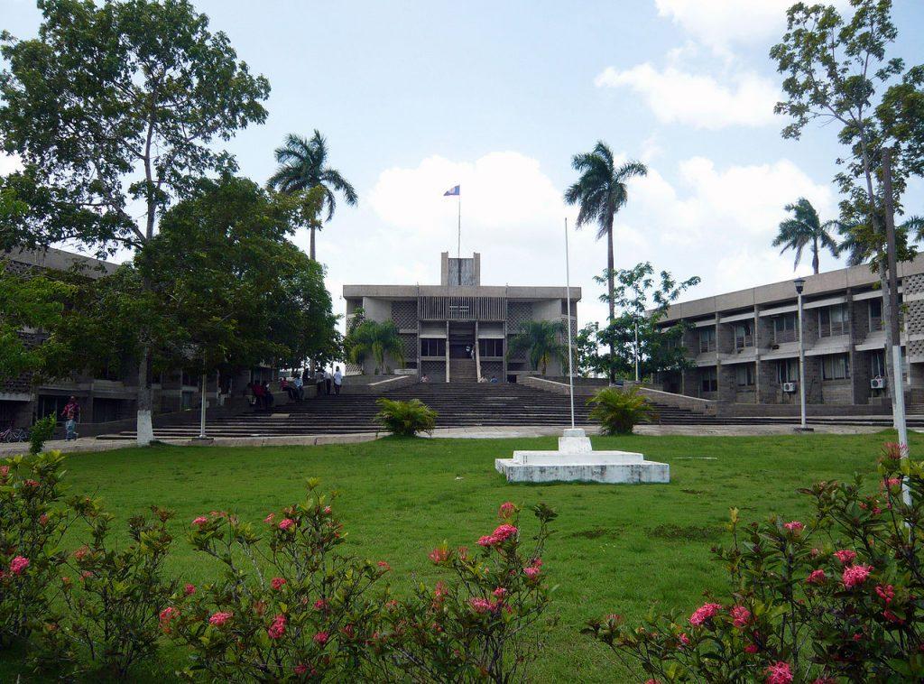 Bâtiments et enceinte du parlement bélizien