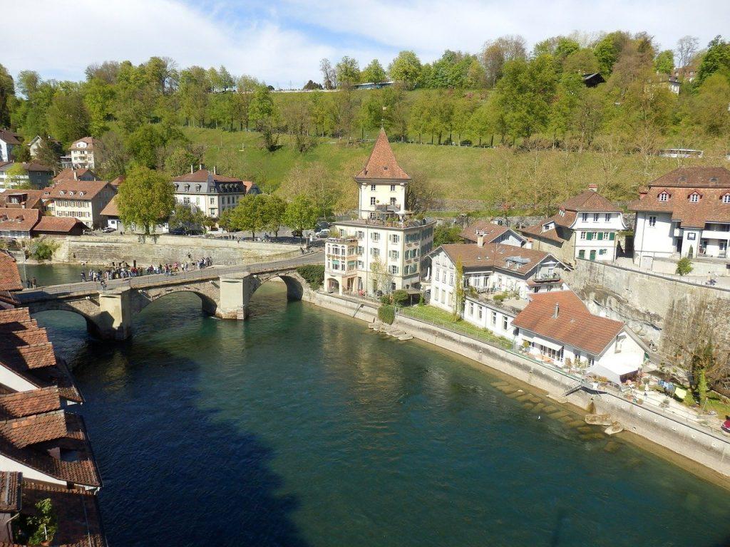 une vue de Berne en Suisse