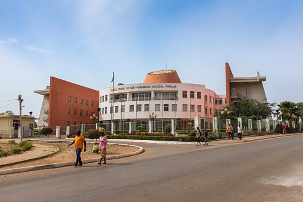 Un édifice à Bissau en Guinée Bissau