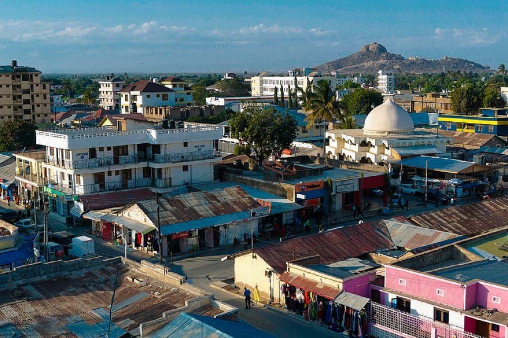 Une vue de Dodoma en Tanzanie