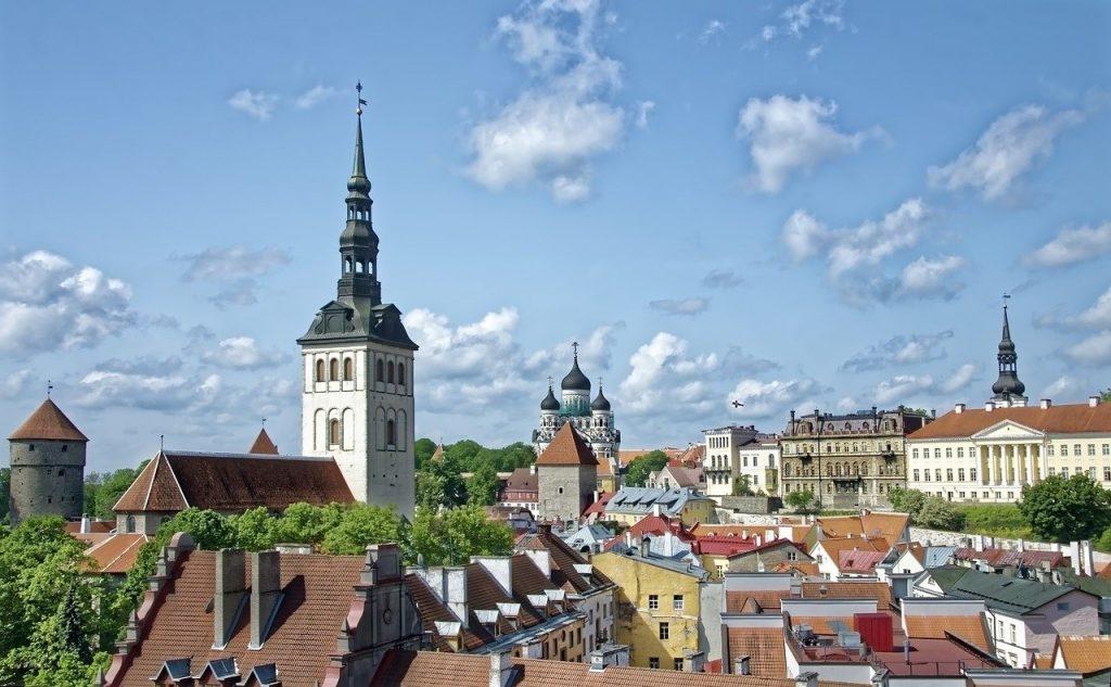 Tallinn, la plus grande ville d'Estonie