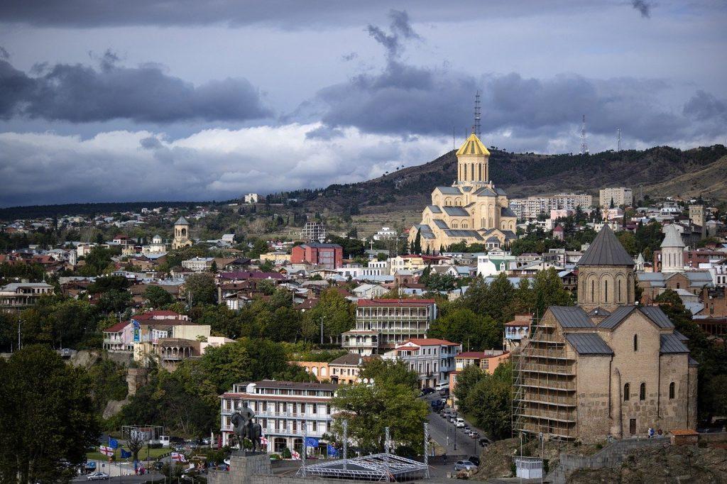 Tbilissi, plus grande ville de Géorgie