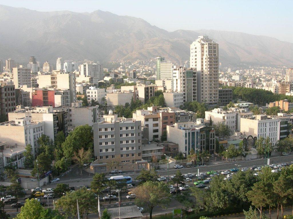 Une vue de Téhéran