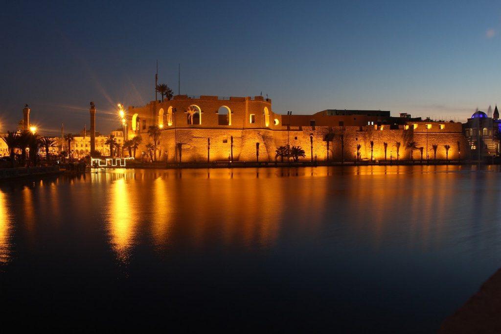 Tripoli vue de nuit
