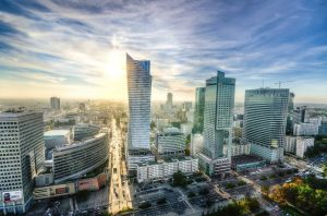 Varsovie, capitale de la Pologne