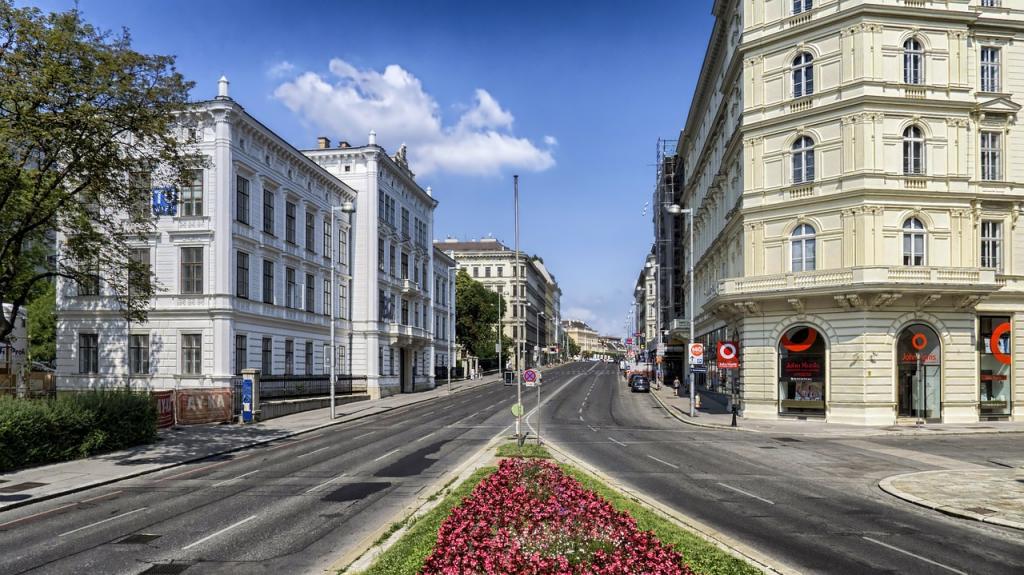 Une vue de Vienne, capitale de l'Autruche
