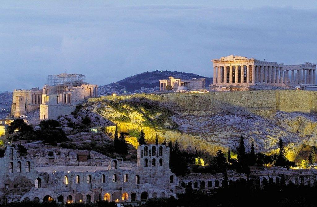 Vestiges à Athènes