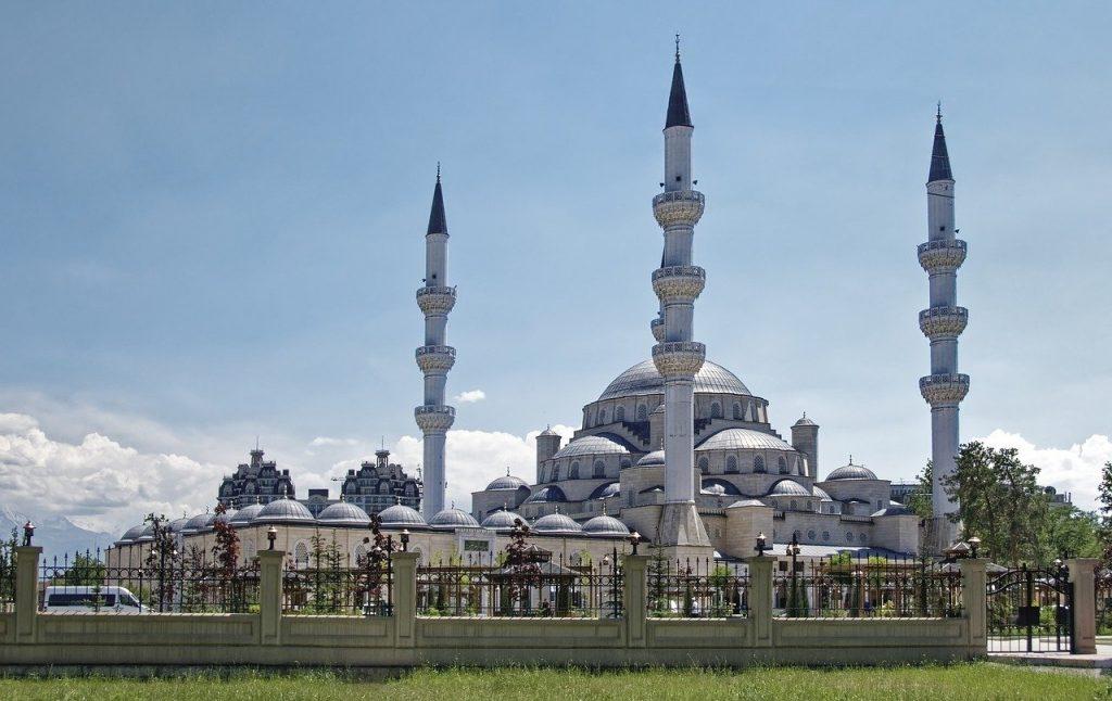 Une mosquée à Bichkek Kirghizistan