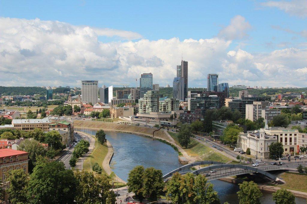 Vilnius en Lituanie