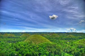 bohol philippinnes chocolate hills